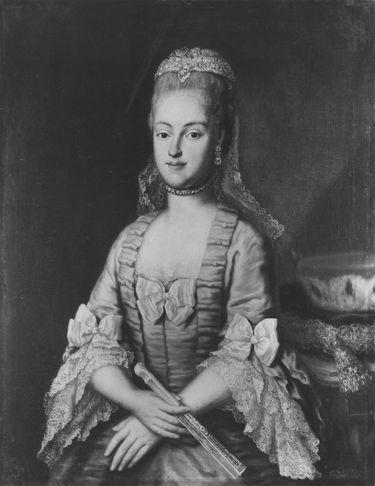 Bildnis der Maria Antonia, Kurfürstin von Sachsen (?)