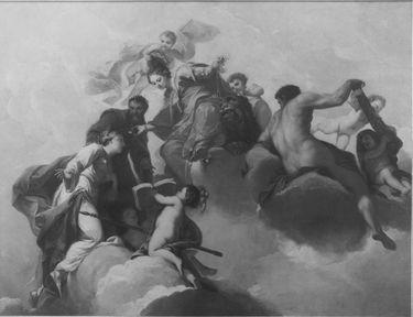 Allegorie des erfolgreichen Herrschers (Deckenbild)