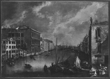 Ansicht des Canale Grande von San Vio (Venedig)