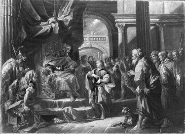 Josef deutet die Träume des Pharao