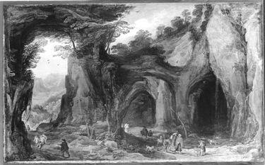 Höhlen im Gebirge