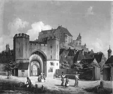 Das Ländtor in Landshut