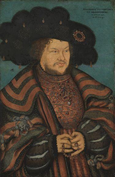 Bildnis des Kurfürsten Joachim I. Nestor von Brandenburg