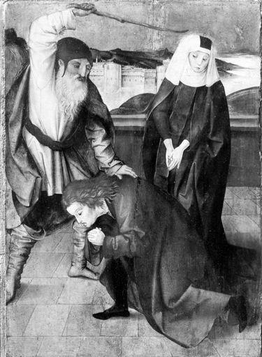 Herzog Attich erschlägt seinen Sohn Hugo