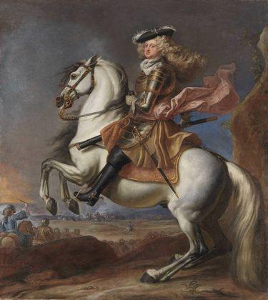 Kurfürst Johann Wilhelm zu Pferde