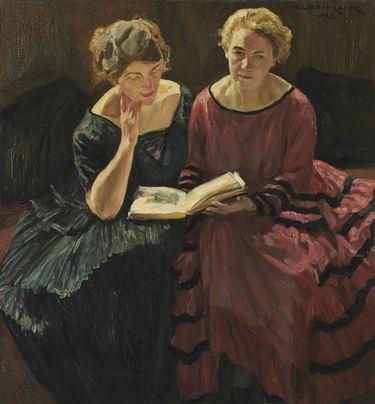 Bildnis zweier Damen