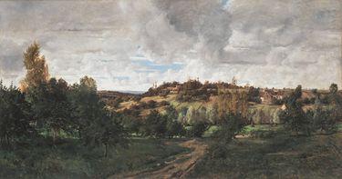 Landschaft bei Auvers