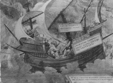 Die Gleichmut des Philosophen Pyrrhon im Sturm