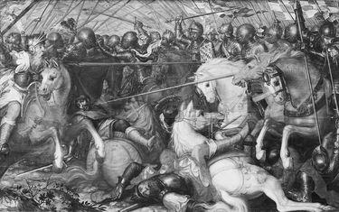 Herzog Wilhelm I. von Straubing-Holland besiegt die Friesen