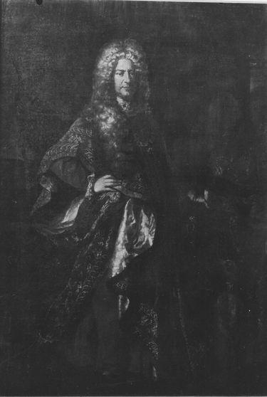 Bildnis von Karl III. Philipp, Kurfürst von der Pfalz, in der Ordenstracht des Goldenen Vlieses (1661-1742)