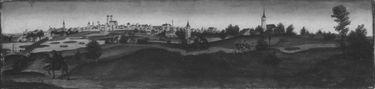 Ansicht der Stadt München