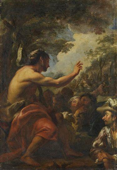 Johannes der Täufer in der Wüste