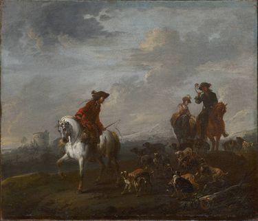 Ausritt zur Jagd