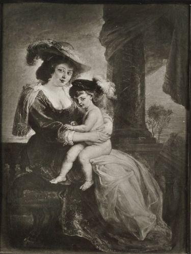 Helene Fourment mit ihrem Sohn Frans