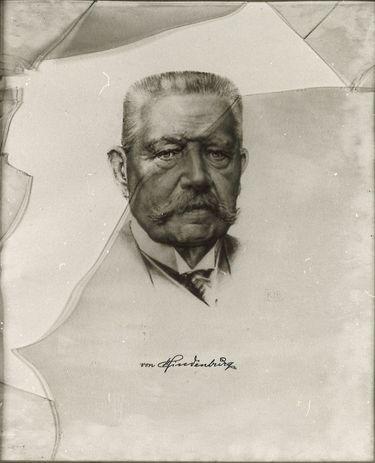 Bildnis Hindenburg