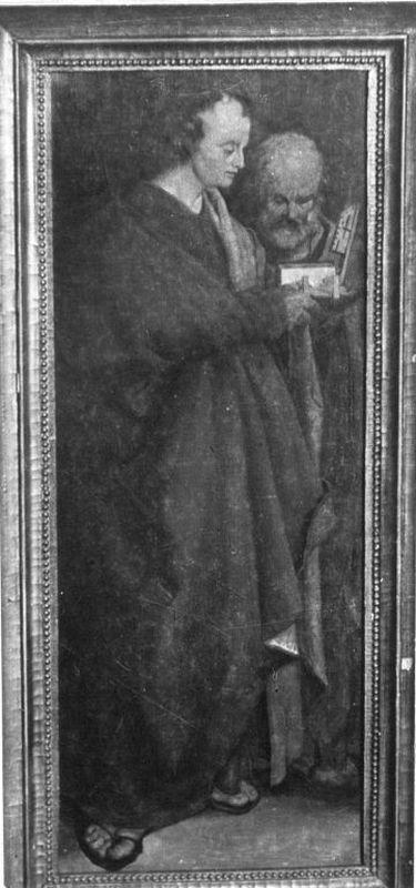 Hll. Johannes und Petrus (Verkleinerte Kopie nach den Vier Aposteln)