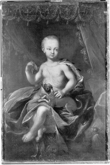 Markgraf Karl Wilhelm Friedrich von Ansbach als 2-jähriger Knabe