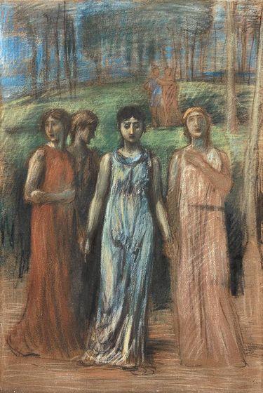 Singende Mädchen