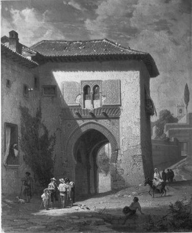 Das Weintor in Granada