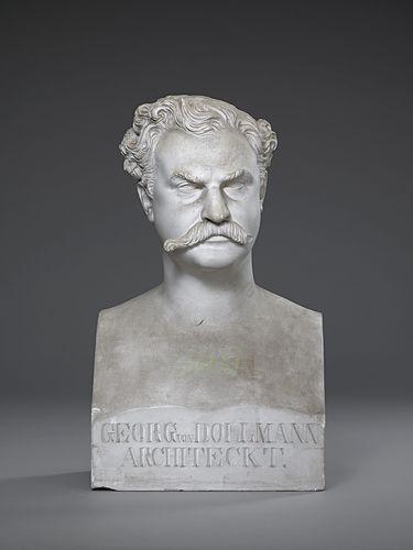 Der Architekt Georg von Dollmann (1830 - 1895)