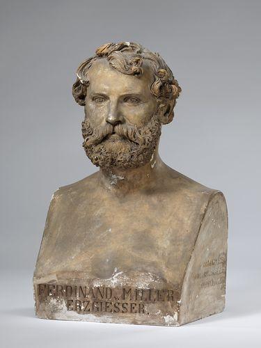 Der Bildhauer Ferdinand von Miller (1813 - 1887), Leiter der kgl. Erzgießerei