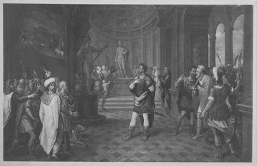Kaiser Julius Apostata führt das Heidentum zurück