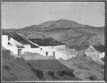 Zigeunerstraße in Andalusien