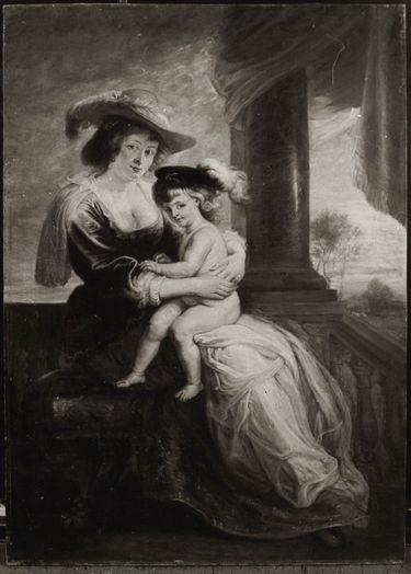 Helene Fourment und Sohn Frans