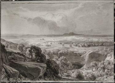 Landschaft bei Jerusalem
