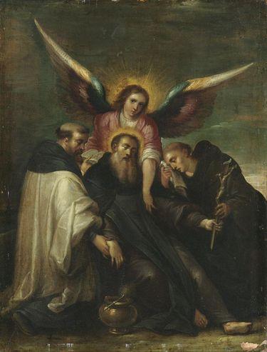 Tod des hl. Benedikt