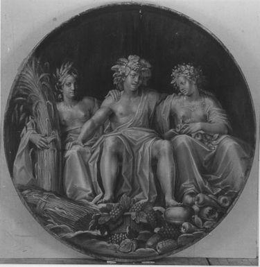 Bacchus, Ceres und Pomona