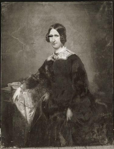 Bildnis einer Dame in Schwarz