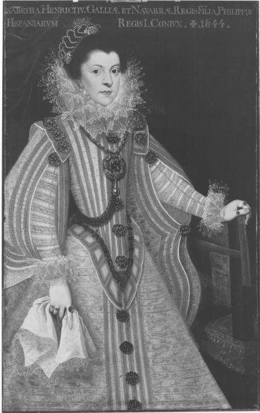 Elisabeth, Tochter Heinrichs IV., vermählt mit Philipp IV. von Spanien