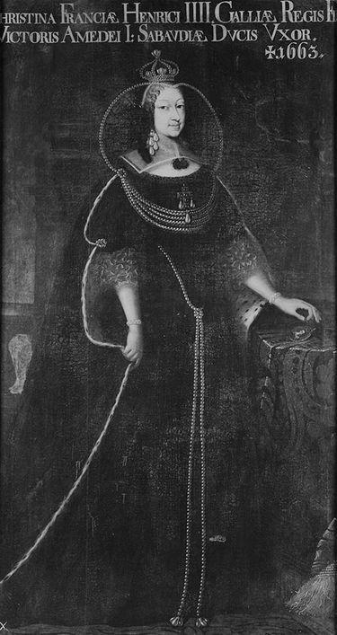 Christina von Frankreich (1606-1663), Herzogin von Savoyen, Gemahlin des Viktor Amadeus' I. von Savoyen