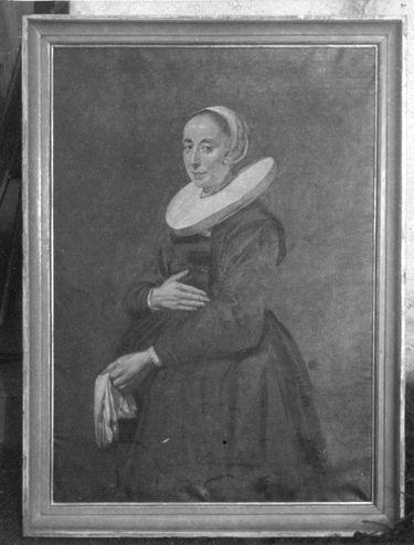 Bildnis einer unbekannten Dame