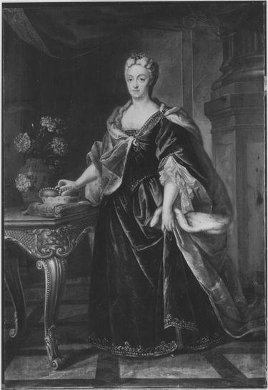 Bildnis der Maria Amalia von Bayern, Gemahlin des Kurfürsten Karl Albrecht von Bayern