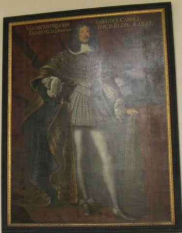 Mauritius von Savoyen (1593-1657)