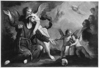 Ekstase des hl. Franziskus von Assisi