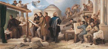 Die von König Ludwig I. mit der Ausführung monumentaler Bauwerke betraut gewesenen Künstler