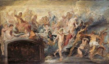 Der Götterrat (Skizze zum Medici-Zyklus)
