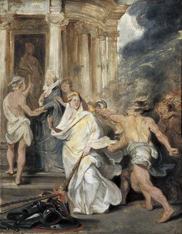 Der Friedenschluss in Angers (Skizze zum Medici-Zyklus)