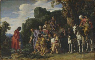 Die Taufe des Mohrenkämmerers