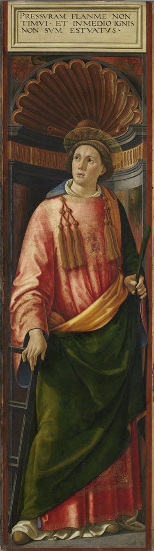 Hochaltar von Santa Maria Novella: Hl. Laurentius