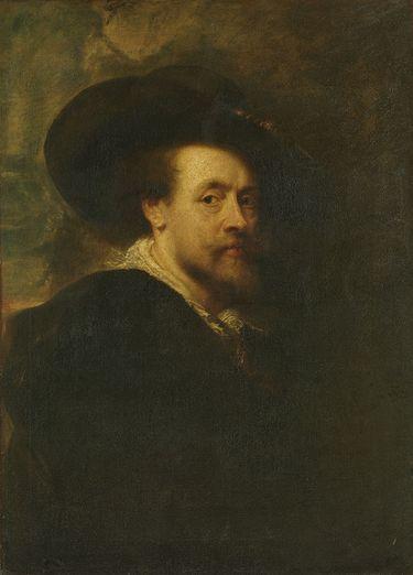 Selbstbildnis (nach Rubens)