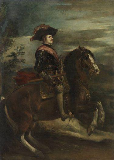 Reiterbildnis König Philipps' IV. (nach Velázquez)