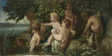 Badende Kinder