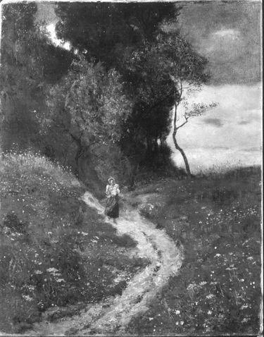 Landschaft am Waldrand