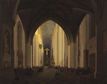 Inneres der Frauenkirche