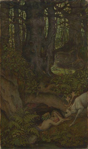 Nixen an der Waldquelle