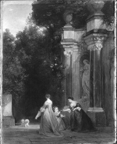 Im Garten Colonna in Rom